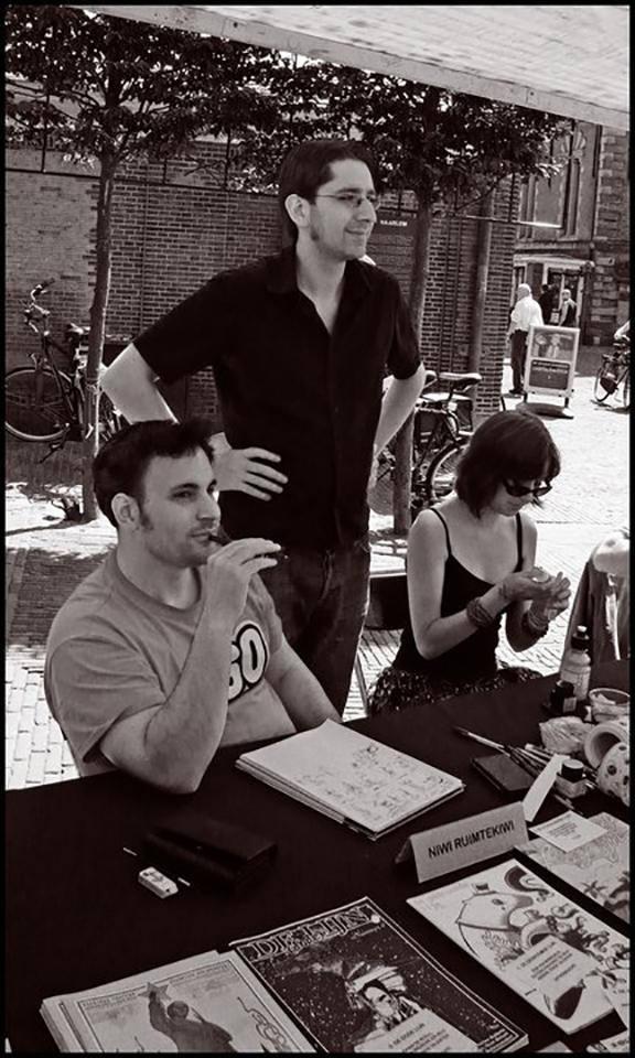 Met Stripblad De Lijn op de Stripdagen Haarlem